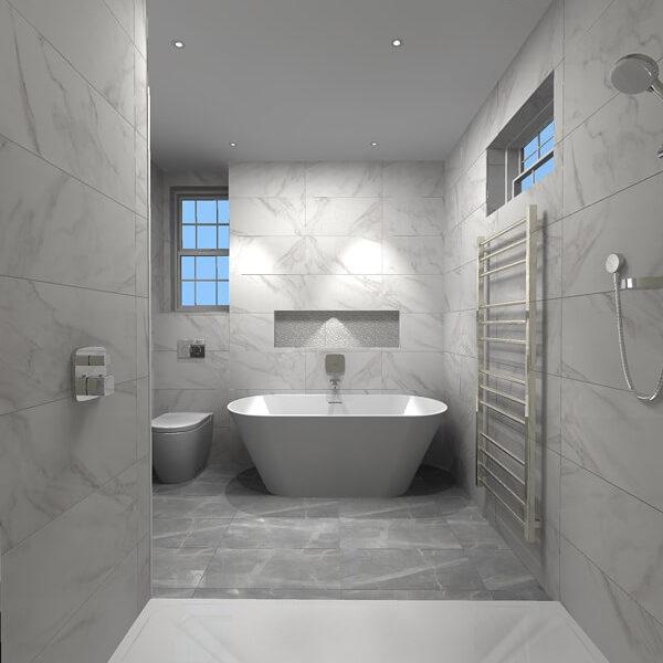 3D Bathroom Design Service